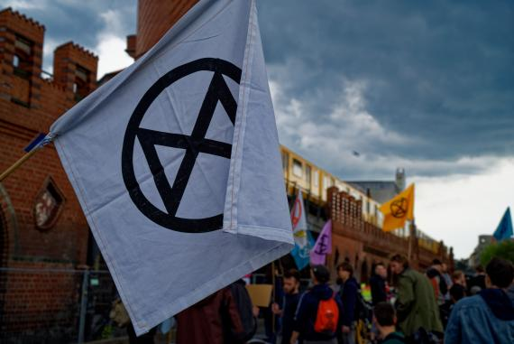 Extinction-Rebellion-Demonstration in Berlin